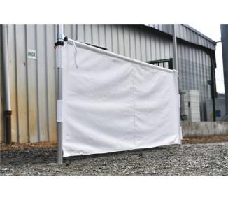 Demi rideau 3m pour tente pliante PRO 40mm