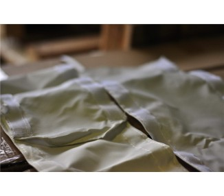 Gouttière 300g/m² polyester PVC pour tente pliante