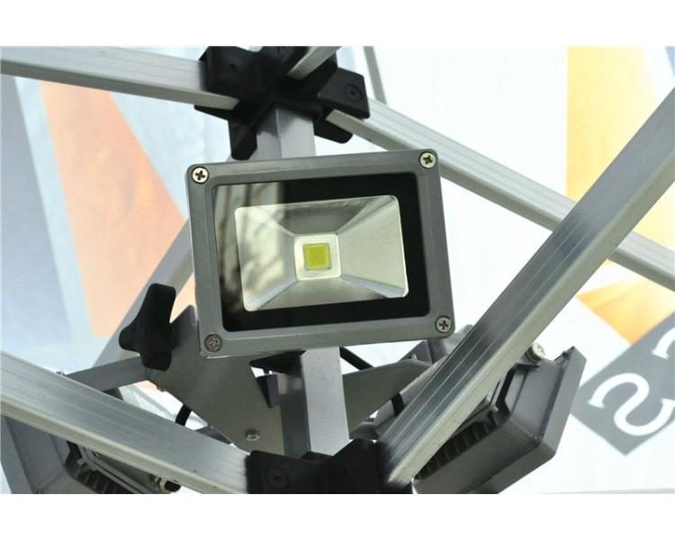 Eclairage à 3 LED pour tente pliante