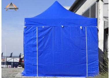Pack Tente pliante Pro+ Alu 55mm toit 520g/m² avec 3 bâches pleines + 1 porte