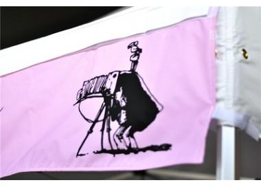 Bandeau amovible imprimé, banderole publicitaire pour toit 300g/m²