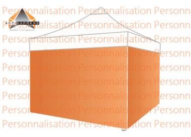 Bâche pleine 300g/m² imprimée pour tous modèles