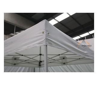 Toile de bâche 2x2m 300g/m² polyester PVC semi-Pro