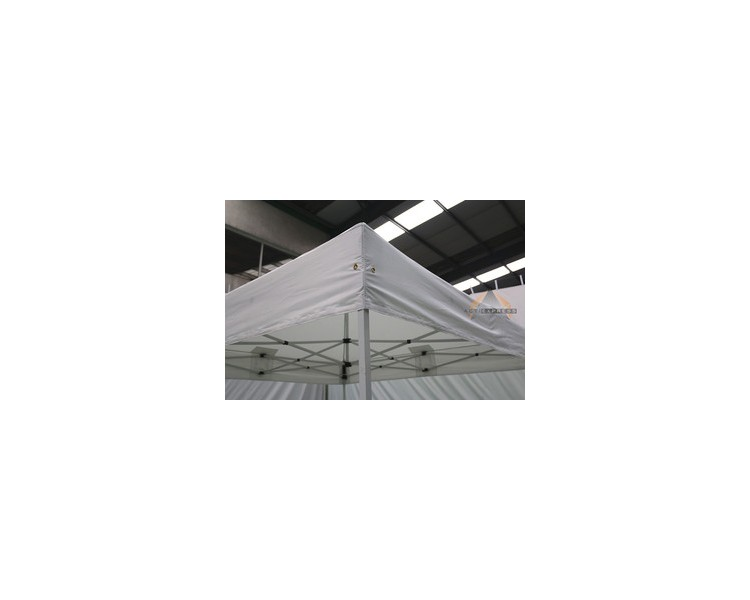 Toile de bâche 2,5x3,75m 300g/m² polyester PVC semi-Pro