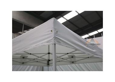 Toile de bâche 4x4m 300g/m² polyester PVC semi-Pro