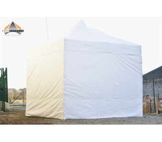 Lot de 4 bâches Murs 520gr/m² PVC(3 pleines + 1 porte)