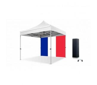 Bâche drapeau Français 300g/m² polyester pvc pour tous les modèles