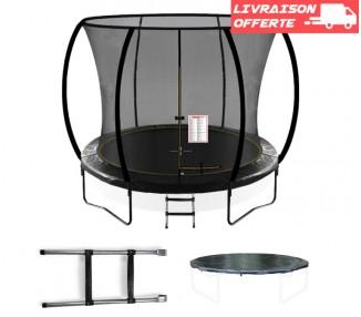 trampoline jardin